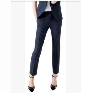 J Crew Tollegno 1900 black pants slacks 2